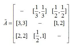 Lij=b و Uij=c