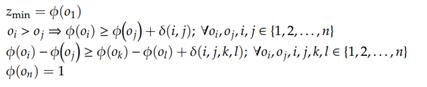 مدل برنامه ریزی خطی مک بث