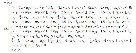 مثال مدل بهترین بدترین فازی 1